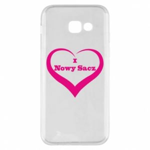 Etui na Samsung A5 2017 Napis - I love Nowy Sacz