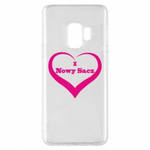 Etui na Samsung S9 Napis - I love Nowy Sacz