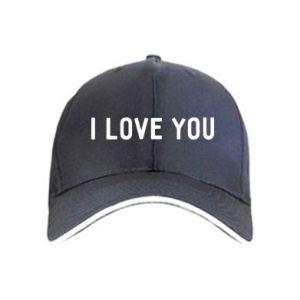 Czapka Napis: I love you