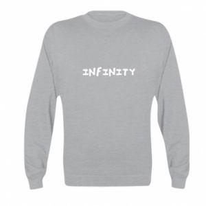 Bluza dziecięca Napis: Infinity