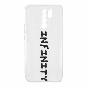 Etui na Xiaomi Redmi 9 Napis: Infinity