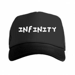 Czapka trucker Napis: Infinity