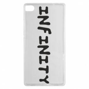 Etui na Huawei P8 Napis: Infinity