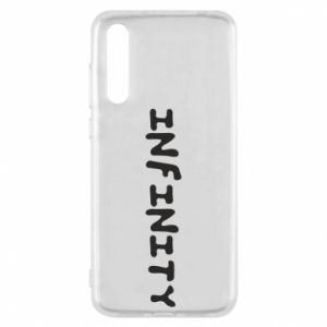 Etui na Huawei P20 Pro Napis: Infinity