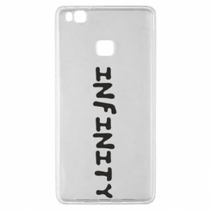 Etui na Huawei P9 Lite Napis: Infinity