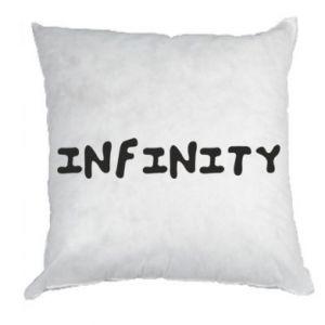 Poduszka Napis: Infinity