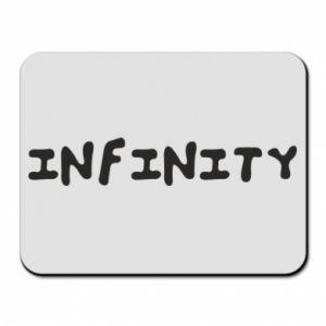 Podkładka pod mysz Napis: Infinity
