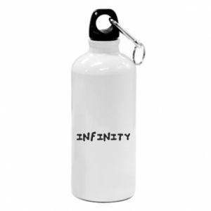 Bidon turystyczny Napis: Infinity