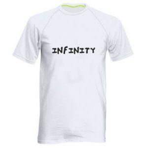 Koszulka sportowa męska Napis: Infinity