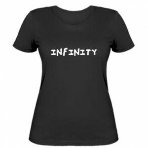 Koszulka damska Napis: Infinity
