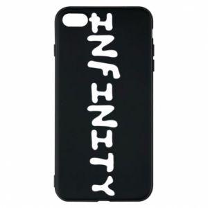 Etui na iPhone 8 Plus Napis: Infinity