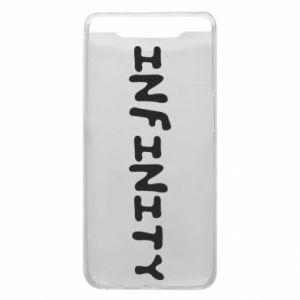 Etui na Samsung A80 Napis: Infinity