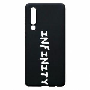 Etui na Huawei P30 Napis: Infinity
