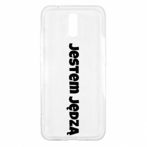 Etui na Nokia 2.3 Napis - Jestem jędzą