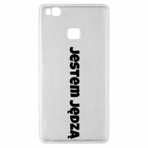 Etui na Huawei P9 Lite Napis - Jestem jędzą