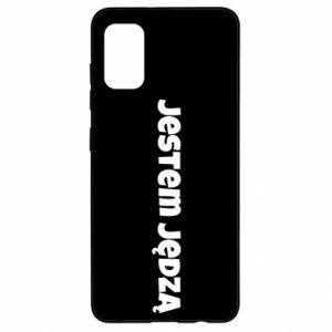 Etui na Samsung A41 Napis - Jestem jędzą