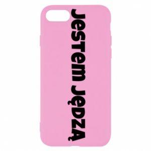 Etui na iPhone SE 2020 Napis - Jestem jędzą