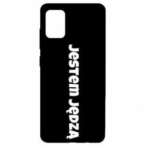 Etui na Samsung A51 Napis - Jestem jędzą