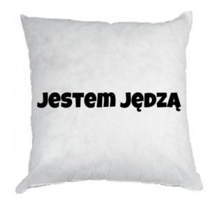 Pillow Inscription - I'm a bitch - PrintSalon