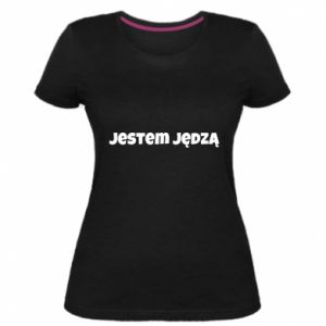 Women's premium t-shirt Inscription - I'm a bitch - PrintSalon