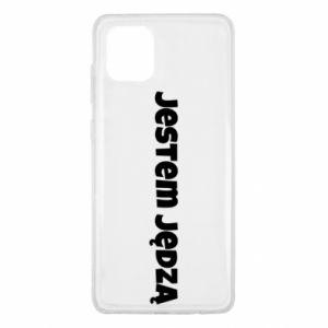 Etui na Samsung Note 10 Lite Napis - Jestem jędzą