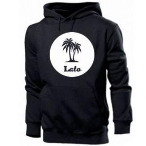 Men's hoodie Inscription - Summer