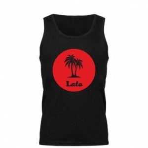 Męska koszulka Napis - Lato