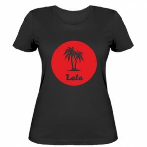Damska koszulka Napis - Lato