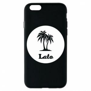 Etui na iPhone 6/6S Napis - Lato
