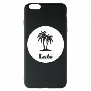 Etui na iPhone 6 Plus/6S Plus Napis - Lato
