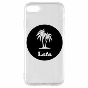 Etui na iPhone 7 Napis - Lato