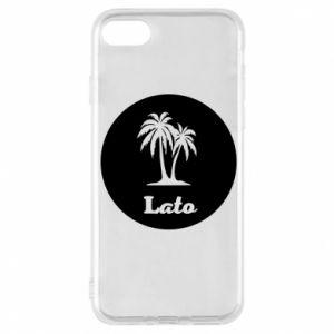 Etui na iPhone 8 Napis - Lato