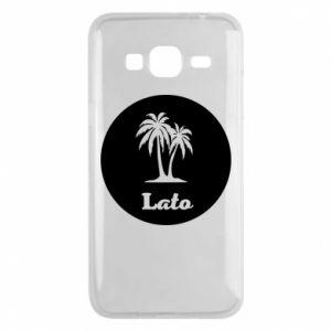 Etui na Samsung J3 2016 Napis - Lato