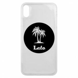 Etui na iPhone Xs Max Napis - Lato