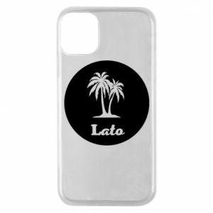 Etui na iPhone 11 Pro Napis - Lato