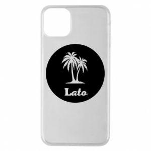Etui na iPhone 11 Pro Max Napis - Lato
