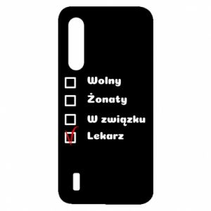 Etui na Xiaomi Mi9 Lite Napis - Lekarz