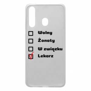 Phone case for Samsung A60 Inscription - Doctor