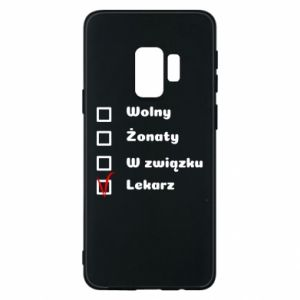 Phone case for Samsung S9 Inscription - Doctor