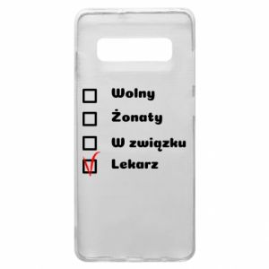Phone case for Samsung S10+ Inscription - Doctor