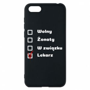 Phone case for Huawei Y5 2018 Inscription - Doctor - PrintSalon