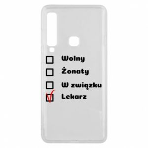 Phone case for Samsung A9 2018 Inscription - Doctor