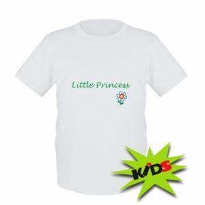 Dziecięcy T-shirt Napis: Little Princess