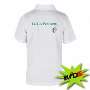 Koszulka polo dziecięca Napis: Little Princess