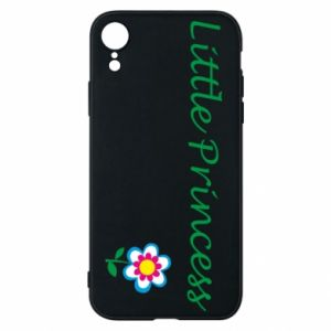 Etui na iPhone XR Napis: Little Princess