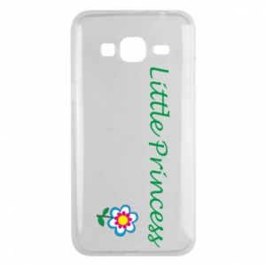 Etui na Samsung J3 2016 Napis: Little Princess