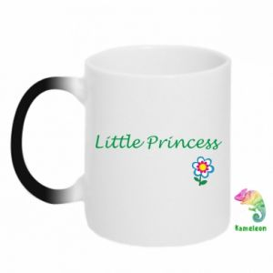Kubek-kameleon Napis: Little Princess