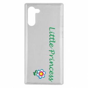 Etui na Samsung Note 10 Napis: Little Princess