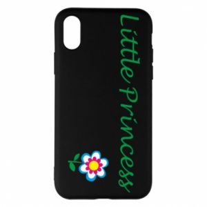 Etui na iPhone X/Xs Napis: Little Princess