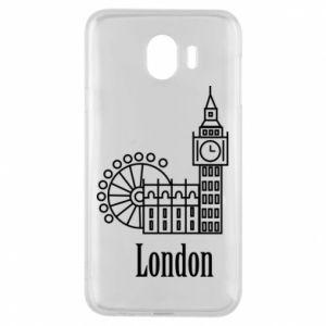 Etui na Samsung J4 Napis: London - PrintSalon